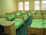 Спальня одной из групп детского сада