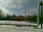 Дома Берёзовой улицы дальним взглядом из посёлка ВНИИССОК