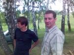 2006-08-07. Форумчане Aule и Victoria