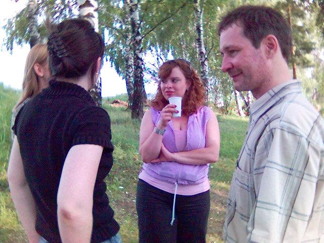 2006-08-07. Девчата нашего форума и Victoria