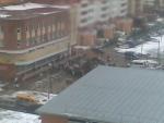 """Праздник Нового года 27-12-2009 в ЖК """"Дубки"""" издалека"""