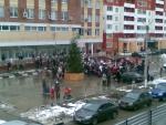 """Праздник Нового года 27-12-2009 в ЖК """"Дубки"""" вблизи"""