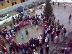 """Праздник Нового года 27-12-2009 в ЖК """"Дубки"""" (ну-ка дети встаньте в круг - 2)"""
