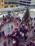 """Праздник Нового года 27-12-2009 в ЖК """"Дубки"""" (ну-ка дети встаньте в круг - 3)"""