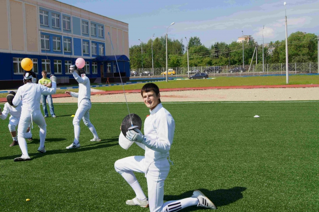 День спорта в поселке ВНИИССОК