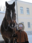 Суздаль 2010. Эх, понравилась нам эта лошадка!