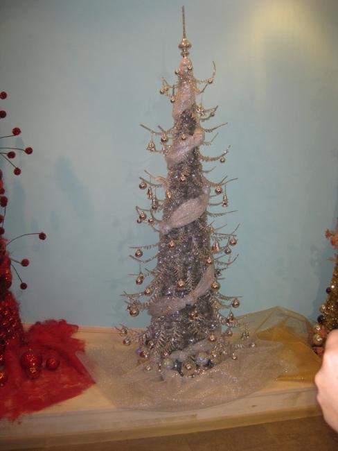 Серебрянная елка