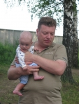 Влад с сыном