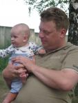 Влад с сыном2