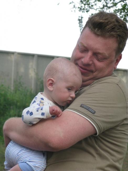 Влад с сыном4