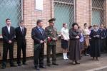 Открытие памятной доски маршалу Жукову в поселке Лесной городок