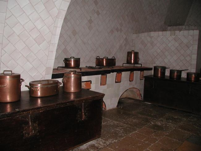 Синтра. Кухня дворца.