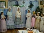Фрагмент рождественского спектакля