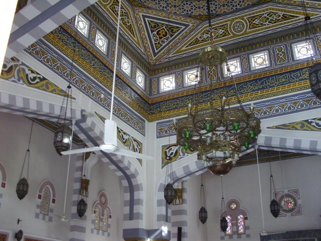 Египет. Хургада. Мечеть. Внутренности...