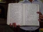 Египет. Православная библия коптов с текстом на местном языке. А может не библия, но какая-то церковная книга