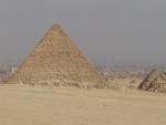 Египет. Каир. Вид на город через пирамиды, фото-1...