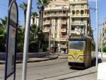 Египет. Александрия. Местные трамваи (сравните с московскими)