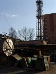 """Лесной городок. Сооружения РЭП """"Жаворонки"""". Промышленный пейзаж. Вид-3"""