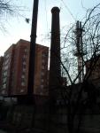 """Лесной городок. Сооружения РЭП """"Жаворонки"""". Промышленный пейзаж. Вид-1"""