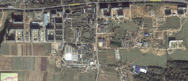 Посёлок ВНИИССОК из Яндекса-2009