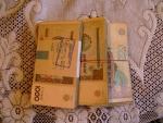 аутентичные узбекские деньги в эквиваленте 100 долл. сша