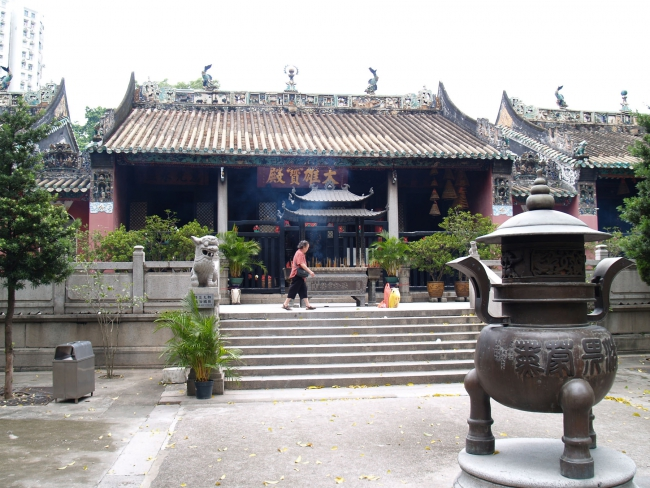 Макао. Буддистский храм. Или буддийский??