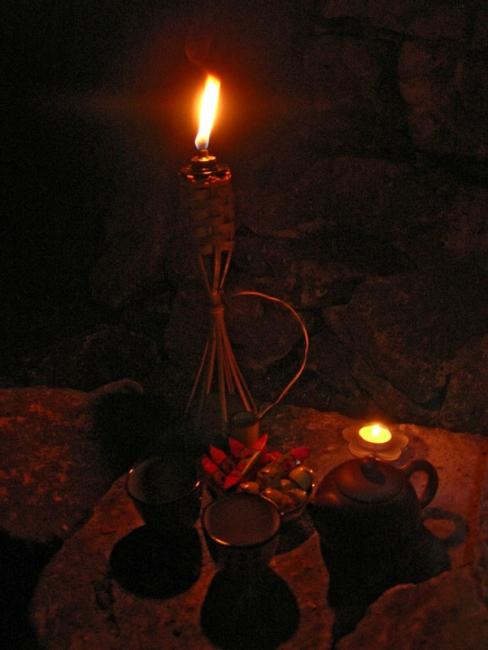 Чаепитие в катакомбах