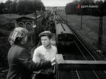 """Платформа Пионерская 1958г. кадр из фильма """"Дело Пёстрых"""""""
