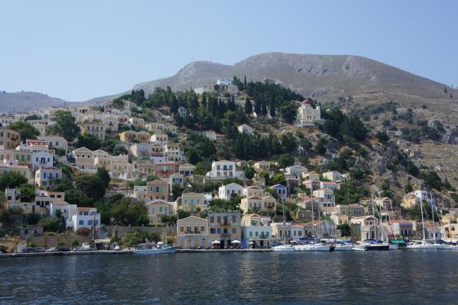 Греция, остров Сими.