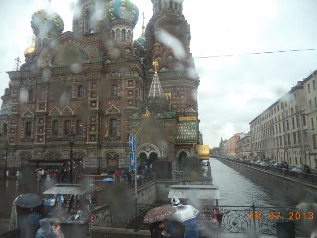 В Петербурге сегодня дожди..