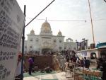 Сикхский храм Гурдвара Бангла Сахиб / Дели