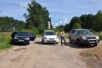 Поездка на трех машинах в Кимры