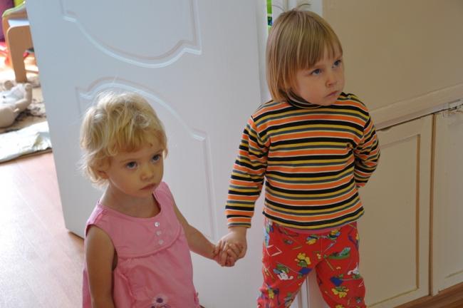 Алиночка и Танюша