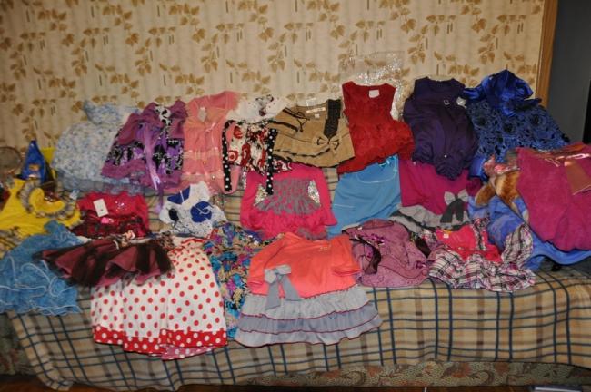 Кашин. Нарядные платьица для девочек