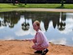 Дубковский пруд в период весеннего потепления
