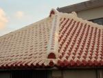 Традиционные рюкюкские крыши домов