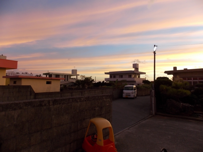 Закат в Мабуни