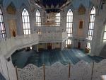 Казань. Мечеть Кол Шериф. Внутри