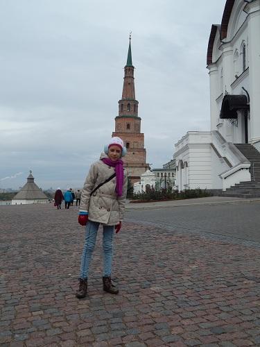Казань. Падающая башня Сююмбике