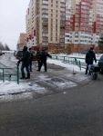 Демонтаж платной парковки возле детского сада - 2