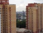 Вид из Гусарской Баллады на город Одинцово. Июнь 2008. Фото-1