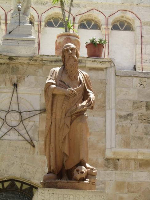 Святой Иероним был первым, кто перевел библию на латинский язык