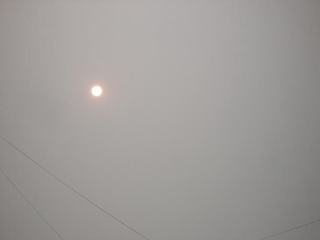 Сегодняшнее солнце