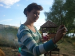 тяжела работа фотографа - работа и выпивка, на закуску рук не хватает)))
