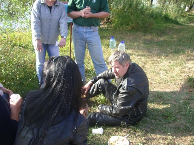 мужчина в коже)))