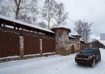 """Стены лесногородского """"кремля""""..."""
