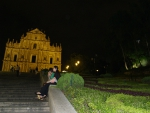 Старинный храм в Макао.