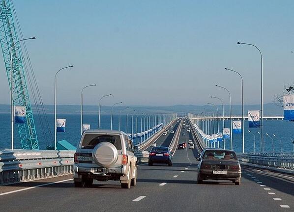 Предполагаемый мост через Керченский пролив