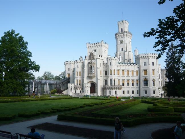 Замок Глубока... или глубока на Влтавой (если не ошибаюсь в написании названия)