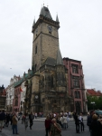 Башня с часами Прага